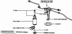 Fuel Filter Diagram Toyota Camry
