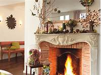 decorating fireplace mantels 40 Christmas Fireplace Mantel Decoration Ideas