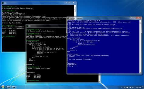 console terminal windows 7 gratis linux like terminal for windows software