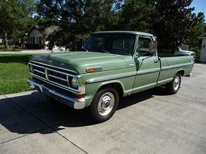 Less Than 14k Miles  1971 Ford F250 Camper Special Pickup