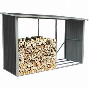 Range Bois Exterieur : abri buches en m tal anthracite 6 st res x metal ~ Edinachiropracticcenter.com Idées de Décoration