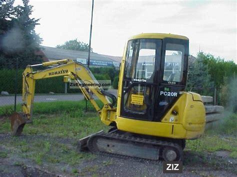 komatsu pcr   minikompact digger construction equipment photo  specs