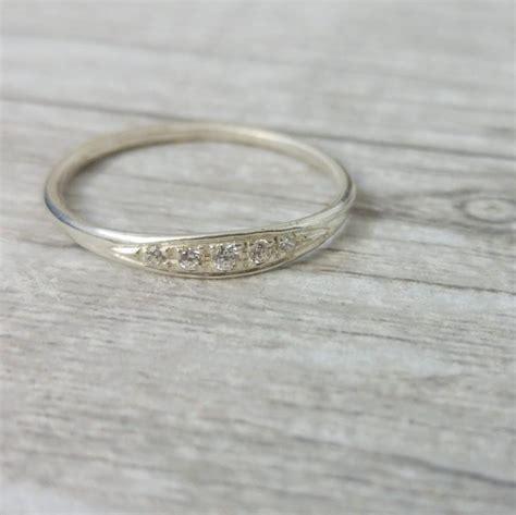 delicate engagement ring elegant and unique engagement