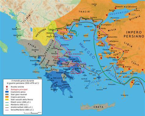 Riassunto Delle Guerre Persiane by Il Mondo Greco Dalle Origini Alle Guerre Persiane
