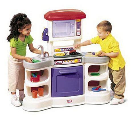 cookin kitchen with lights and sounds tikes cookin sounds gourmet kitchen t101125 9458