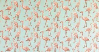 Papier Peint Motif Flamant by L Imprim 233 Flamingo Chic Ou Kitsch Marie Claire