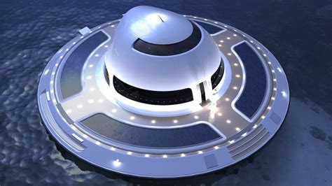 Floating Boat House Ufo by Is This Ufo Shaped House Boat The Home Of The Future