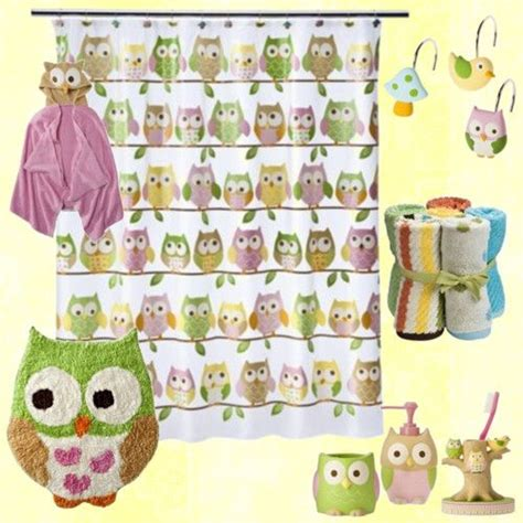 owl themed bathroom sets 17 best images about owl bathroom on