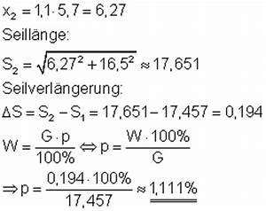 Seillänge Berechnen : aufgaben und l sungen zu pythagoras aus der technik ii mathe brinkmann ~ Themetempest.com Abrechnung