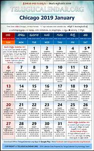 Free Printable Calendar October 2020 Chicago Telugu Calendars 2019 January Festivals Pdf