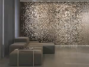 Metallic Bathroom Wall Tile