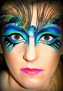 Make Up Ideen : 25 h bsche pfau halloween make up ideen mode f r alle ~ Buech-reservation.com Haus und Dekorationen
