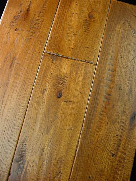 hickory prefinished hand scraped distressed hardwood