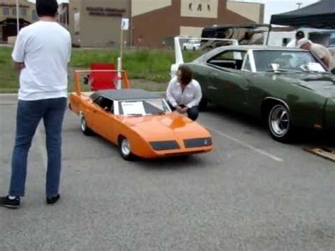 1970 plymouth superbird 1/2 scale gocart   YouTube