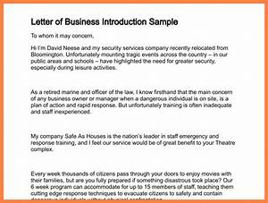 7 introduction letter of company to client company With sample of introduction letter of event management company