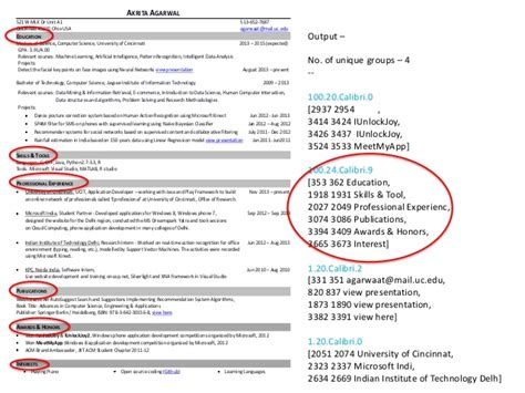 How To Mention Gpa In Resume by Resume Parser