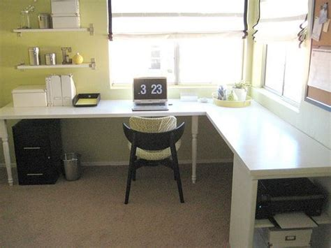 how to make a table l 17 best images about desks on pinterest diy wall lowes