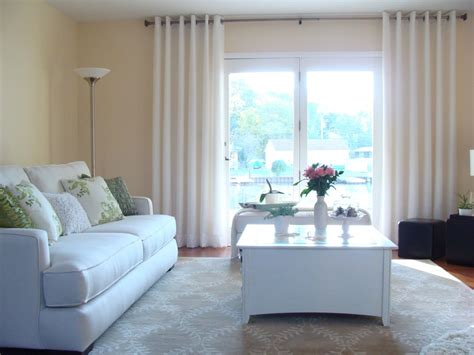 Living Room Window Curtain Ideas by Inexpensive Curtains For Large Windows Curtain Ideas