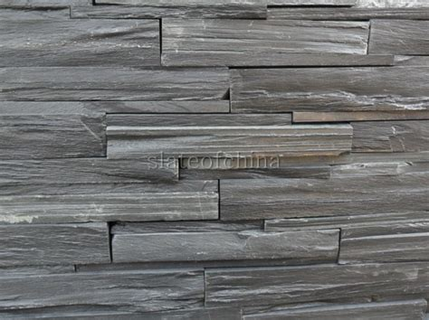 stacked slate wall tile stone wall strips stacked slate wall tiles slate stack stone suppliers china manufacturer