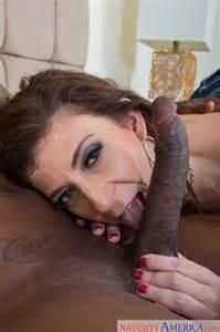 Sara Jay Is Sucking A Black Cock Milf Fox