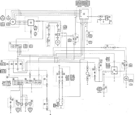 yfm400fwn wiring diagrams yamaha big 4wd atv