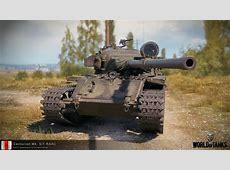 World of Tanks Supertest Centurion Mk 51 RAAC