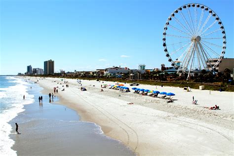 Vacation In Beautiful Myrtle Beach, South Carolina