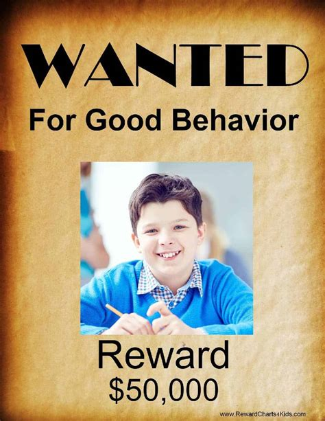 printable wanted poster template