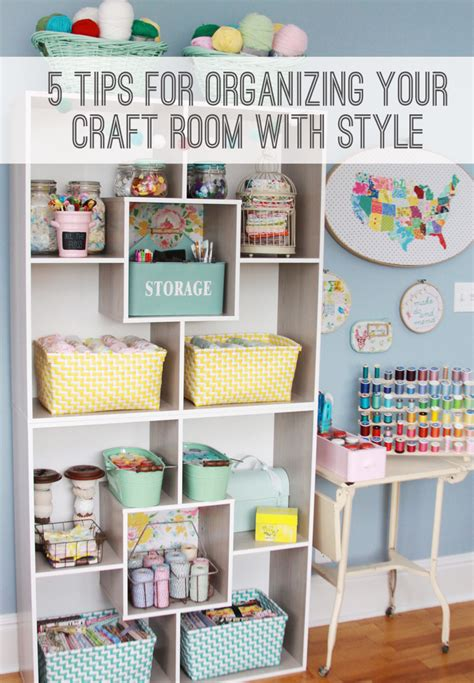 5 Tips For Organizing Your Craft Room And Finding Deals