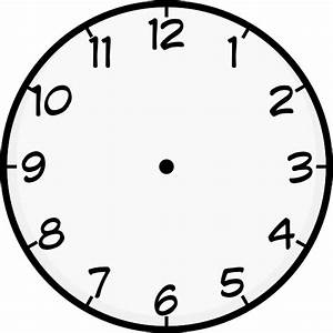 Purzen Clock Face Clip Art At Clker Com