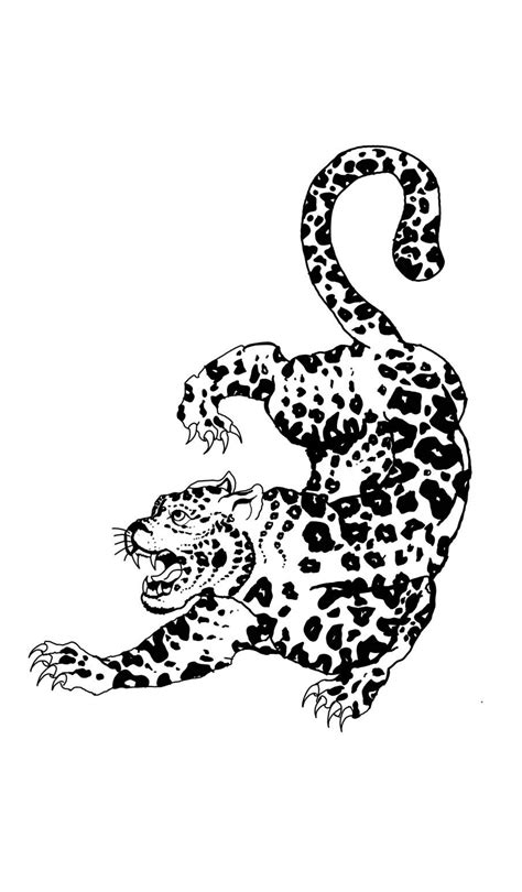Sak yant leopard tattoo | Leopard tattoos, Tattoos, Tiger tattoo design