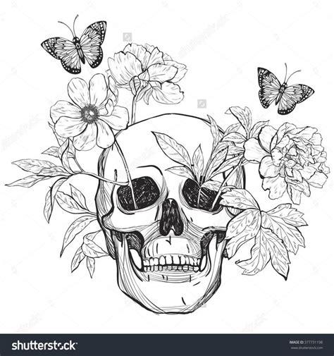 skull butterfly tattoo ideas  pinterest mens arm skull tattoos skull tattoos