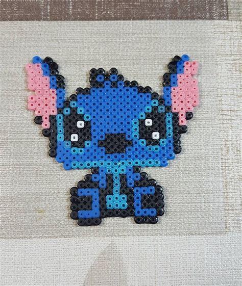Stitch hama beads by marayagabrielli Hama beads disney