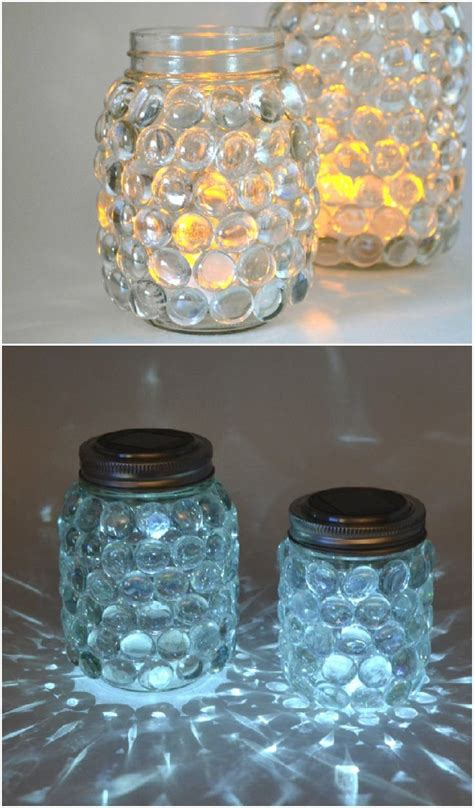 Mason Jar Luminaries Jar Crafts Mason Jar Diy Mason
