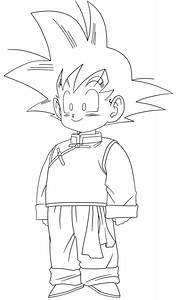 Goten - Free Coloring Pages