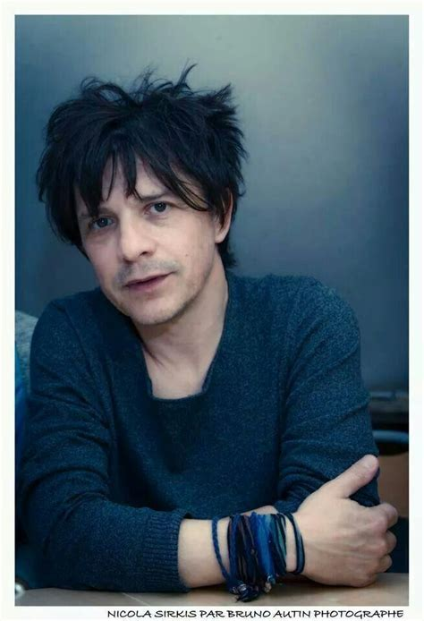 Nicola sirkis on stage with his niece the guitarist lou. Nicola Sirkis | Indochine musique, Indochine, Chanteur