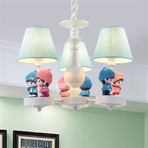 chandelier for nursery chandelier for room 3 5 6 light wrought iron fabric
