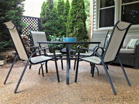 clean outdoor furniture cleaning 365