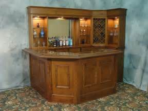corner bar small home bar in family room