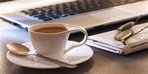café au bureau 1 salarié sur 2 serait prêt à renoncer au café au bureau