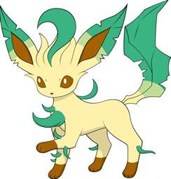 Pokemon Eevee Evolutions Leafeon