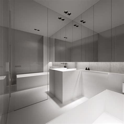 stark sharp minimalistic interiors  oporski architektura