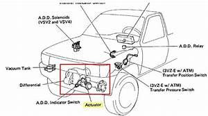 Have A 2000 Toyota Tundra Sr5 Access Cab  The 4wd Won U0026 39 T