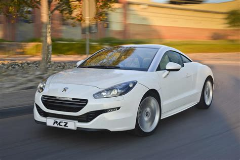 peugeot company car peugeot rcz 1 6 thp 2014 new car review surf4cars co