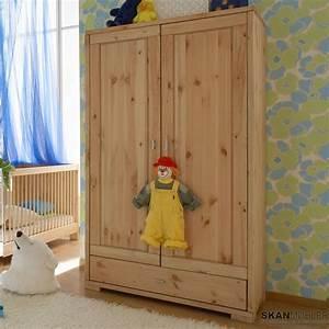 Kleiderschrank Für Schrägen : kleiderschrank f r kinderzimmer babyzimmer guldborg von pinus g nstig bestellen bei skanm bler ~ Sanjose-hotels-ca.com Haus und Dekorationen