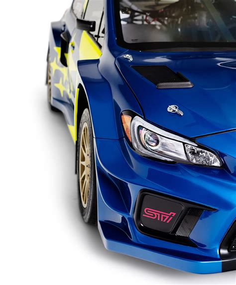 news subarus blue  gold livery   baby