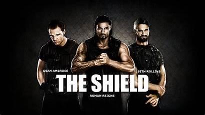 Shield Wwe Reigns Roman Ambrose Rollins Deviantart