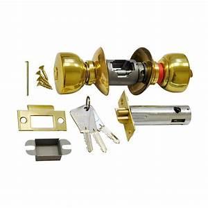 Serrure De Porte De Chambre : serrure tubulaire vachette v6500 laiton axe 80 bouton cle ~ Premium-room.com Idées de Décoration