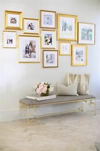 Goldene Punkte Wand : 50 fotowand ideen die ganz leicht nachzumachen sind ~ Michelbontemps.com Haus und Dekorationen
