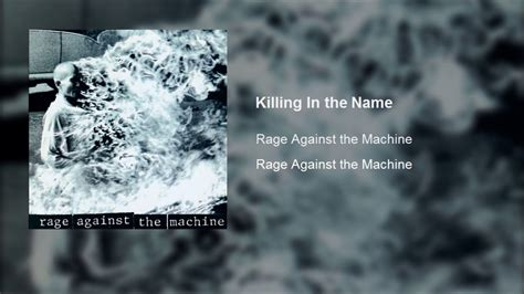 Rage Against the Machine - Killing In the Name (Clean ...